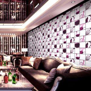 KTV / Bar Interior Wall Decorative Elegant PVC 3D Wallpaper pictures & photos