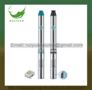 for Irrigation 3′′ 1.5HP 1100W High Quality Copper Wire Deep Well Submersible Pump (3SD2.5/20-1.1KW) pictures & photos