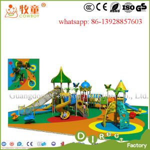 Plastic Kids Outdoor Playground Equipment for Sale pictures & photos