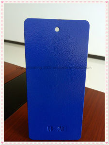 Blue Orange-Peel Finish Decorative Powder Coating for Outdoor Use pictures & photos