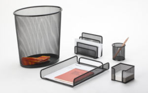 Stationery Desk Set/ Metal Mesh Stationery Office Set/ Office Desk Accessories pictures & photos