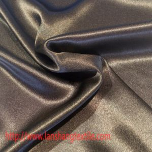Satin Polyester Fabric for Full Dress Shirt Leisure Wear Home Textile pictures & photos