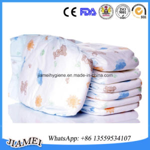 Soft Breathable Disposable Baby Diapers with Leak Cuffs Guangzhou Fair Specially Supply pictures & photos
