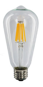 LED St64 Filament Light Bulb 2W 4W 6W 8W 12W for Energy Saving pictures & photos