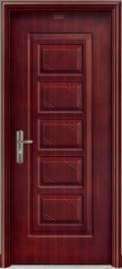Wood Grain Steel Door Metal Door pictures & photos