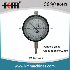 0-1mmx0.001mm Micron Dial Indicator Gauge pictures & photos