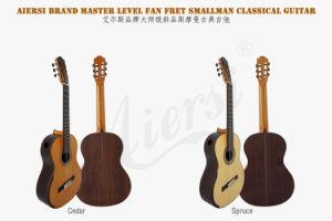 Aiersi Factory Fan Fret Smallman Classical Guitar (SC098SPFFF) pictures & photos