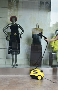 Powerful Clothes Steamer with Garment Hanger pictures & photos