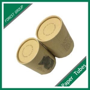Custom Cardboard Packaging Kraft Paper Tube pictures & photos
