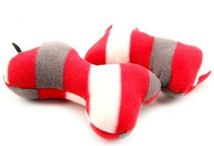 Bone Pattern Plush &Stuffed Squeaky Pet Toy for Dog pictures & photos