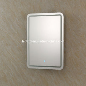 Screen Touch Smart Mirror with White and Yellow Light (6016) pictures & photos