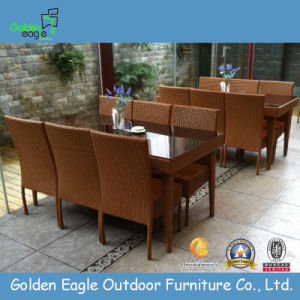 SGS PE Rattan Furniture Outdoor Garden Furniture