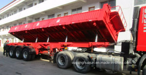Rear Dump Skeleton Container Semitrailer pictures & photos