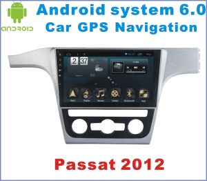 Android System 6.0 Car GPS Navigation for Passat 2012 with Car DVD Player
