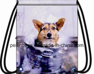 Fashion Design Polyester Drawstring Sports Backpack Gym Bag pictures & photos