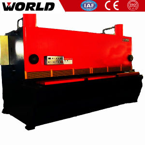 China Hydraulic Guillotine Shearing Machine pictures & photos