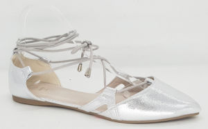 Women′s Fashion Slingback Pointed Toe Ballet Shoes pictures & photos