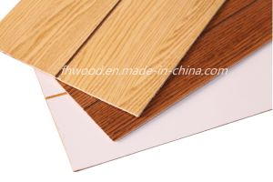 3mm Paper Overlaid Decorative Plywood Wtih Grooves pictures & photos
