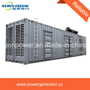 Heavy Duty Container Type Power Generator 1000kVA with Cummins Engine pictures & photos