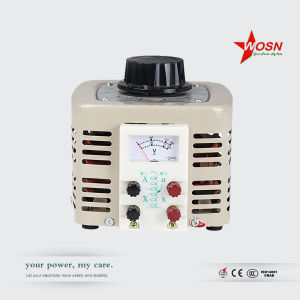 Tdgc/Tdgc2 3000va 220V Input 0-250V Output Manual Contact Voltage Regulator Variac pictures & photos