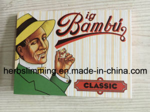 New Hot Selling Big Bambu Classic Smoking Cigarette Rolling Paper 50 Booklets pictures & photos