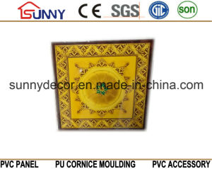 Waterproof PVC Panel for Wall and Ceiling Tiles with Hot Stamping 595/600/603mm pictures & photos