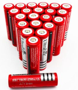 18650 14500 3.7V 4000mAh Lithium Li-ion Power Rechargeable Flashlight Battery pictures & photos