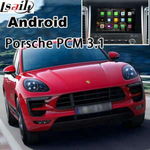 GPS Navigation System Video Interface for Porsche-Macan, Cayenne, Panamera (PCM 3.1) ; Upgrade Touch Navigation, WiFi, Mirror Link, HD 1080P, Google Map pictures & photos