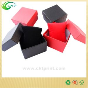 Square Cardboard Paper Box, Leather Watch Packaging Box (CKT-CB-761) pictures & photos