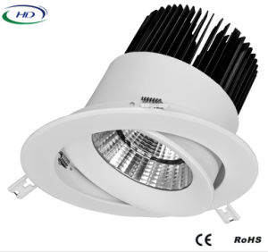 40W/50W/60W COB-W Series Adjustable LED Downlight pictures & photos