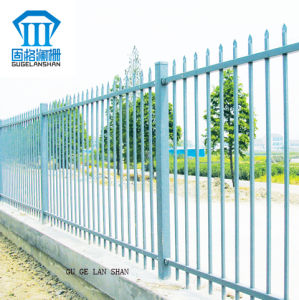 Rust-Proof/Antiseptic/High Quality Security Steel Fence/Fencing for outdoor pictures & photos