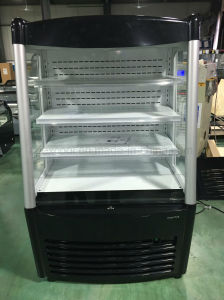 High Quaity Air Curtain Front Open Display Chiller pictures & photos