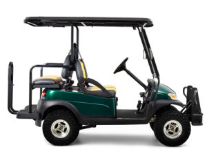 Front Seater Plus Rear Seater Electric Golf Buggy pictures & photos