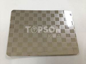 201 304 316 Steel Product Stainless Steel Sheet with Embossed Colored for Decoration pictures & photos