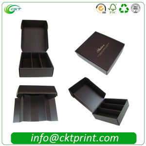 Rigid Folding Ribbon Cardboard Gift Clothes Packaging Box (CKT- CB-149) pictures & photos