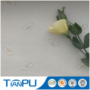 Nice Design 100% Poly Knit Jacquard Fabric for Latex Mattress pictures & photos