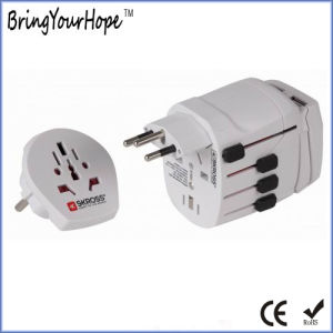 Travel Adapter with Dual USB Charger (XH-UC-038) pictures & photos