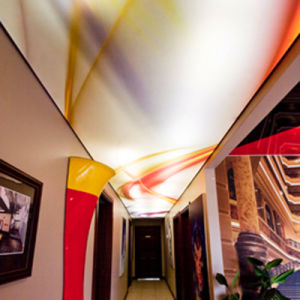 Custom Design Super Popular Modern Stretch Ceiling Film for Decoration pictures & photos