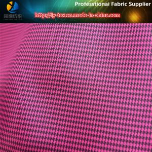 Polyester Two-Tone Houndstooth Fabric for Lining pictures & photos