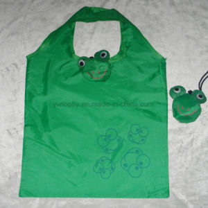 Polyester Reusable Eco Friendly Foldable Supermarket Shopping Bag pictures & photos