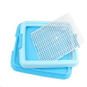 Pet Grid Flat Plastic Green Dog Toilet pictures & photos