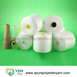 30s Polyester Spun Knitting Yarn on Paper Cone (30/1) pictures & photos