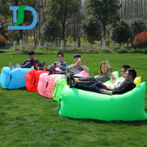 Newest Outdoor Beach Inflatable Air Sleeping Lazy Sofa pictures & photos