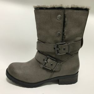 Women Comfort Fashion Boots with TPR Cemented Outsole pictures & photos