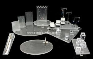 Custom Elegant Acrylic Display Jewellery Stand pictures & photos