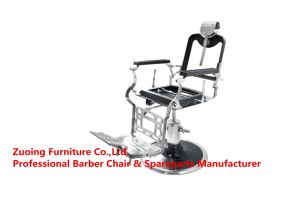 Stainless Steel Framed Salon Chair Height Adjusted by The Pump Hair Beauty Furniture pictures & photos