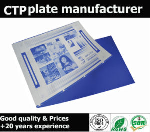 High Impression Good Quality Cxk Thermal CTP Plate pictures & photos