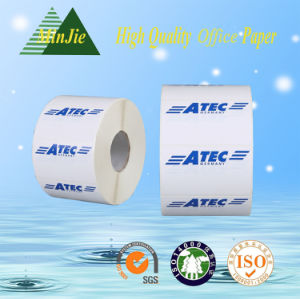 Custom Logo Printed Self Adhesive Thermal Label and Sticker Till Roll