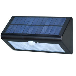 Motion Sensor Outdoor Wall Mounted Solar Light Lamp pictures & photos