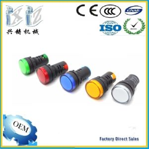 Factory Price Ad22-22ds 22mm LED Signal Polit Indicator Lamp Red Green Yellow Blue White Color pictures & photos